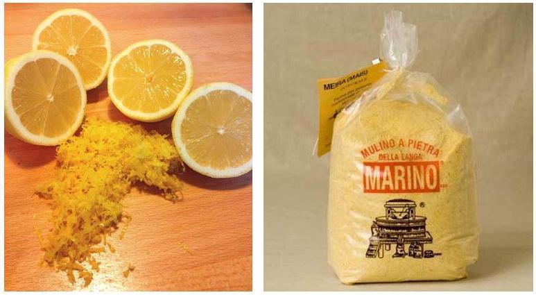 lemon polenta