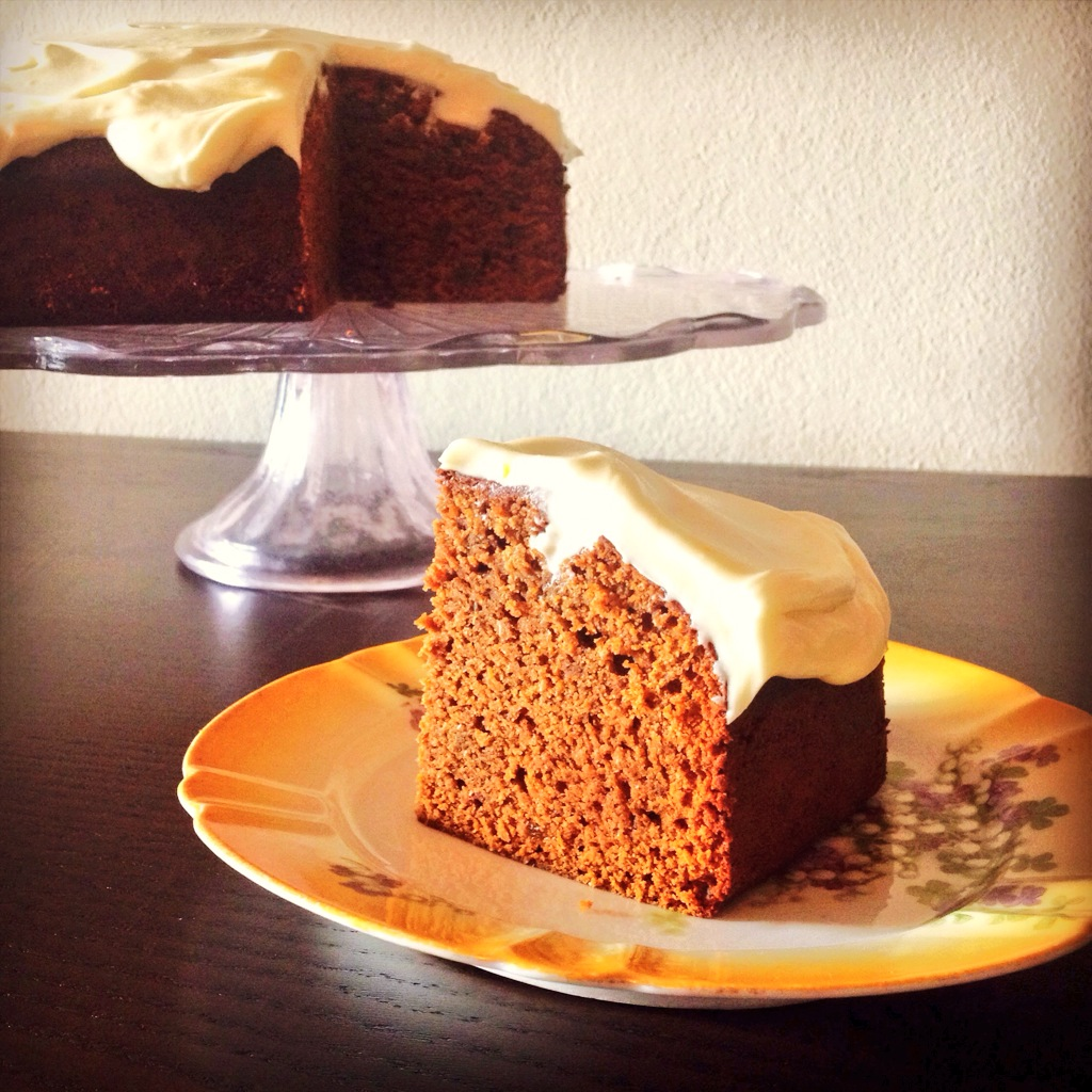 Orange Gingerbread With Cream Cheese Frosting Recipe ...