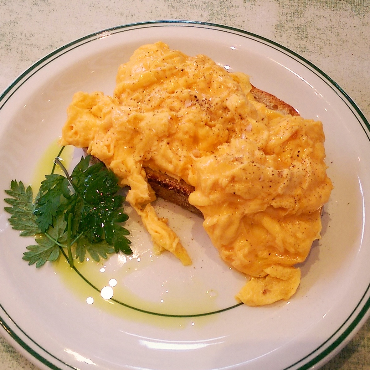M1LK scrambled egg