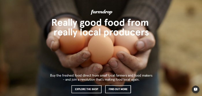Farmdrop website