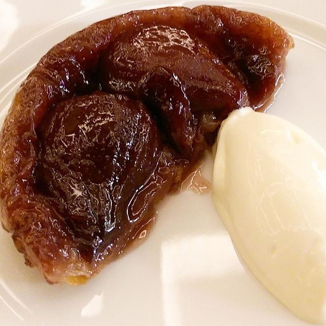 tatin and ice cream