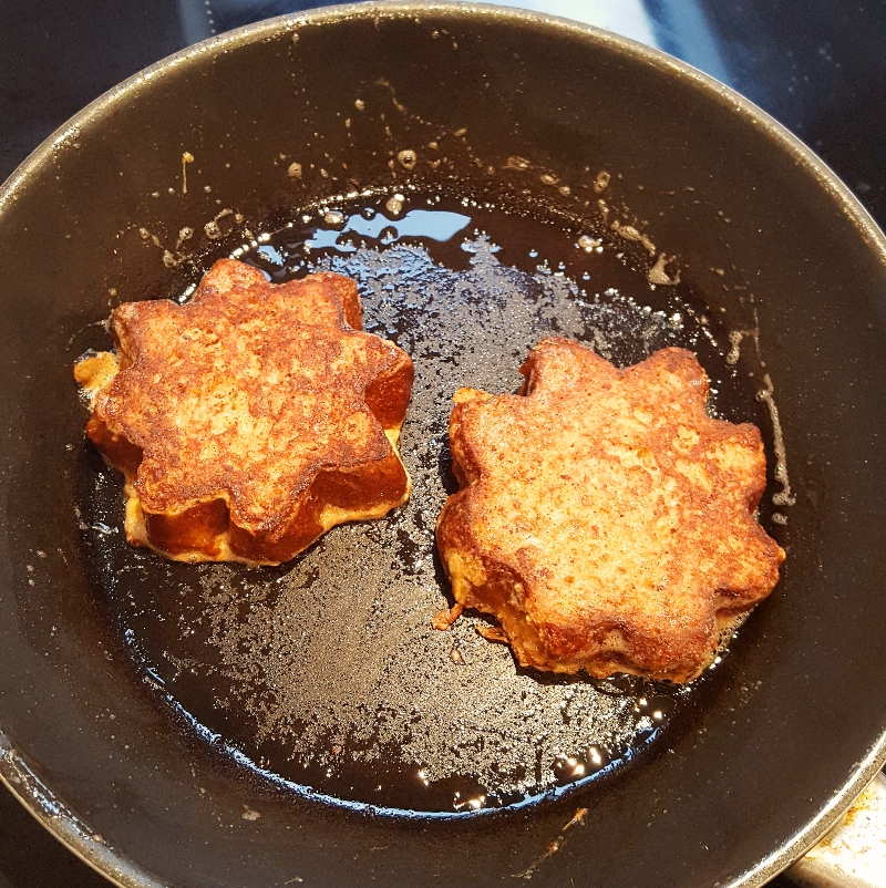 French toast ready