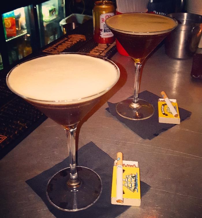 LYD espresso martinis
