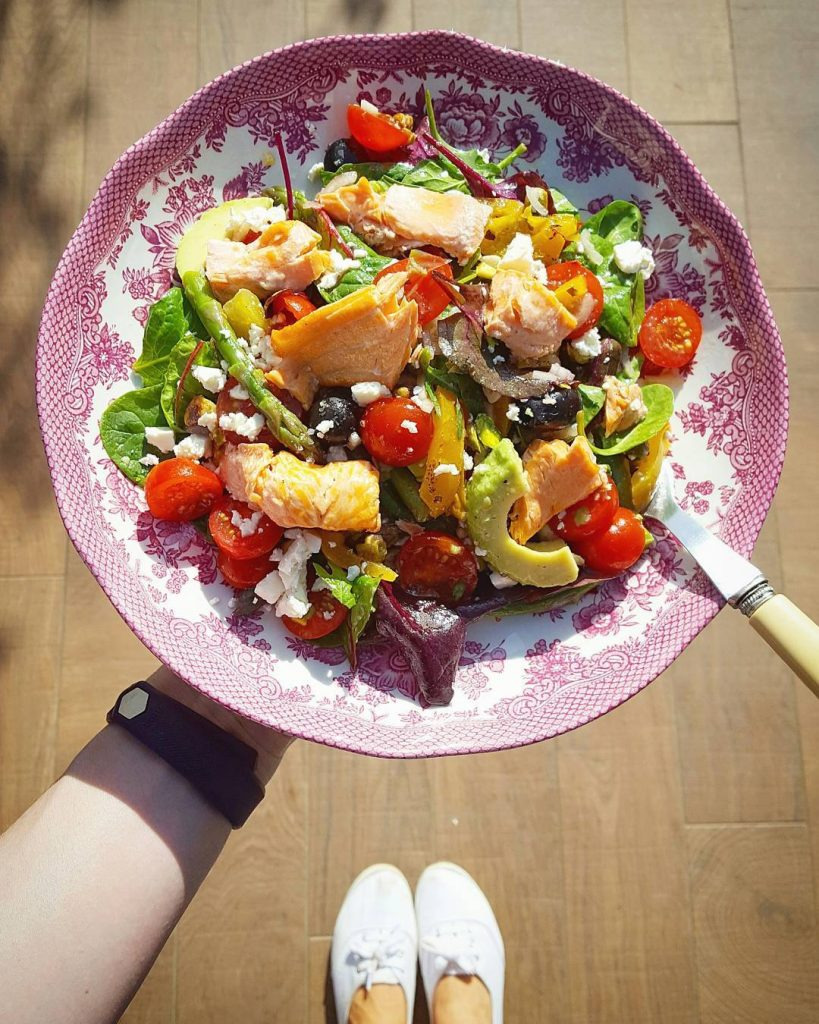 As soon as the sun shines I immediately crave saladhellip