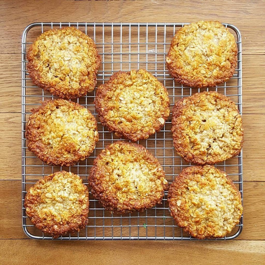 As its Anzac Day today I made delicious Anzac biscuitshellip
