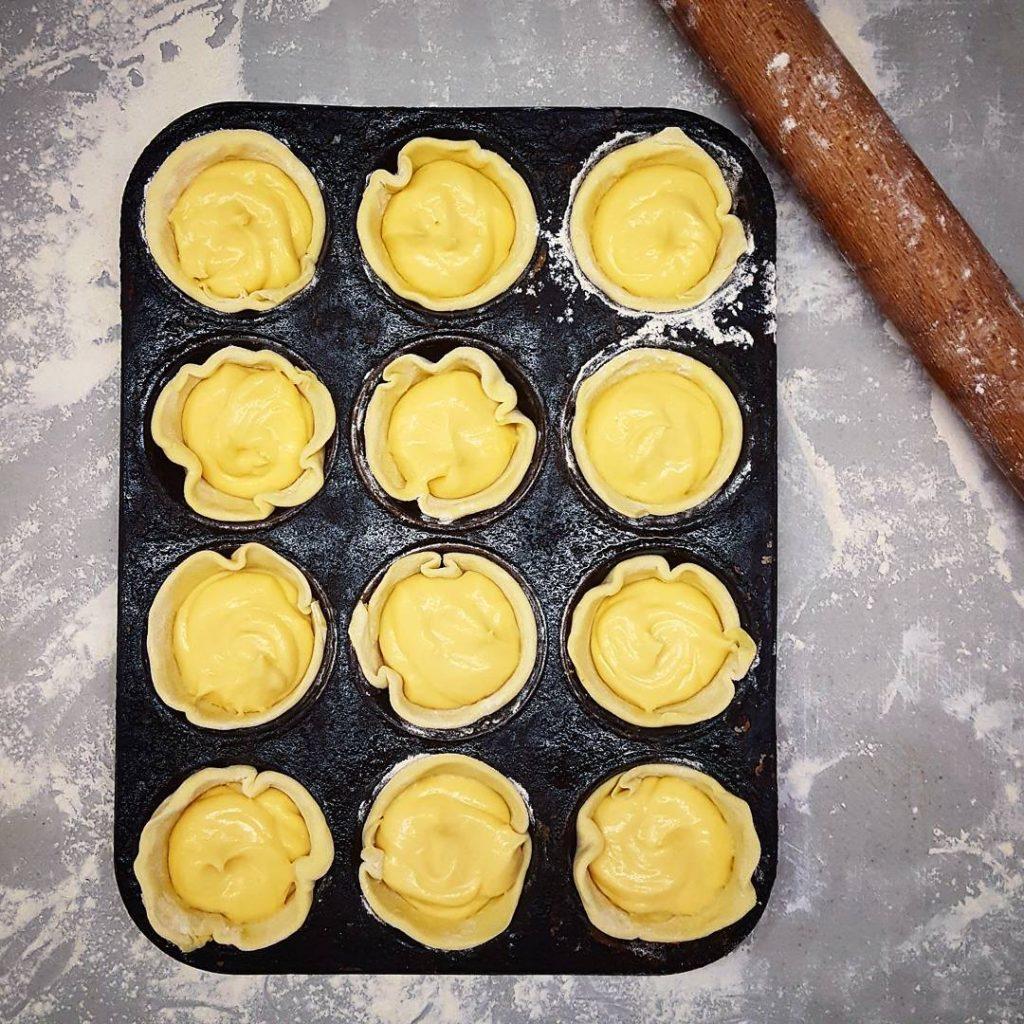 So today I made custard tarts baking pastry custard tart