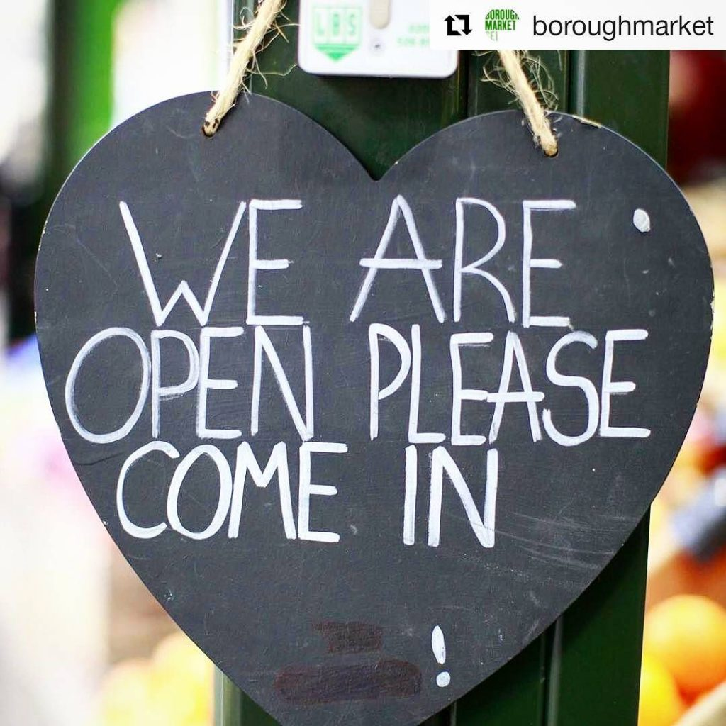 boroughmarket is now officially open again! Please go and showhellip