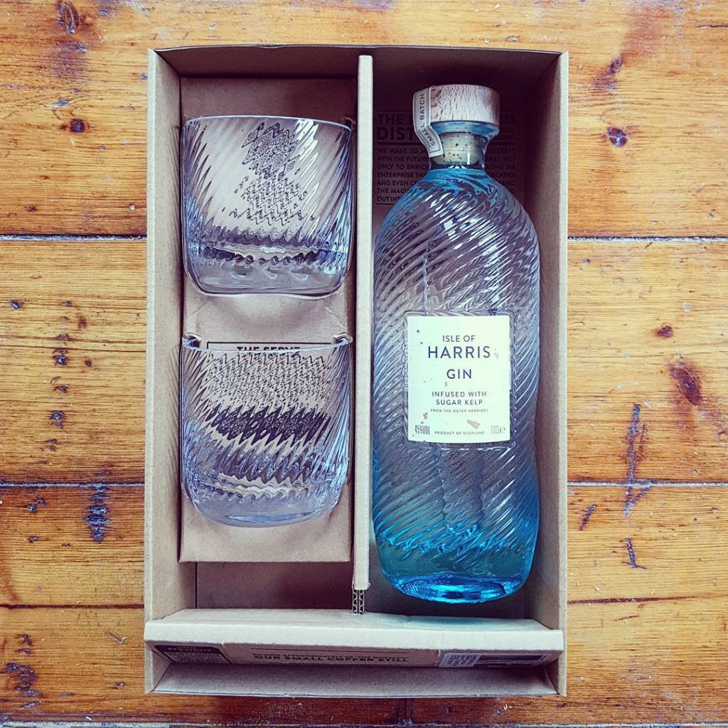 So delighted to receive this Harris Gin gift box ashellip