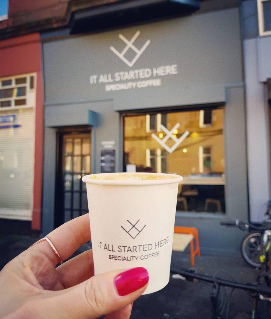 Terrific coffee at allstartedherecoffee in Shawlands