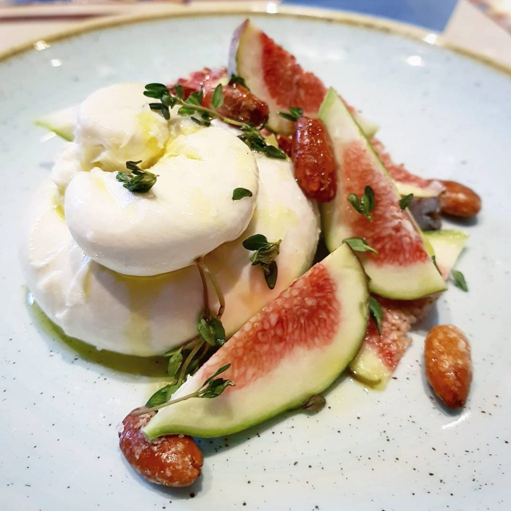 I cant seem to see burrata on a menu withouthellip